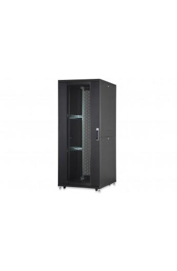 "Rack Server 19"" 42U 800x1200mm IP 20 doble Pta. perf. Black"