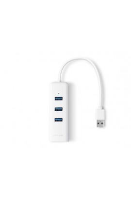 Tarjeta Red USB3.0 TPLink 1Pto Gigabit+HUB USB 3Ptos 0,15mts
