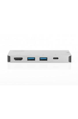 Docking Station USB-C 6 Ports Hdmi 4K USB3.0 USB C