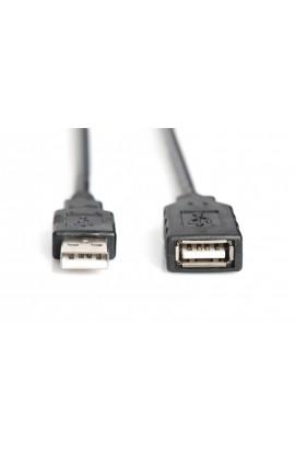 Cable USB2.0 Amplificado DIGITUS Macho / Hembra 10mts
