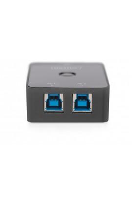 Conmutador USB 3.0 DIGITUS 2 PCs 1 periférico