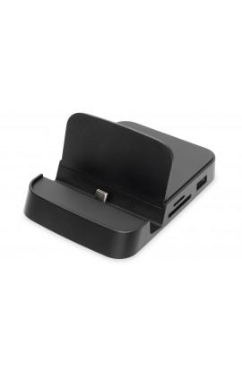 Docking Station USB-C p/Smartphone HDMI SD