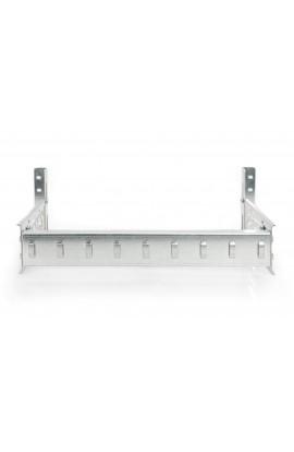 Carril DIN para armario rack 4U galvanizado